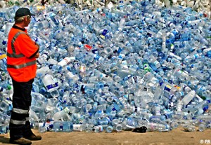 plastic bottle landfill