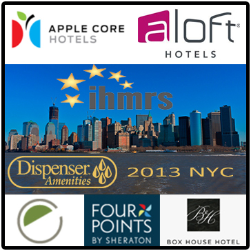 apple core hotels aloft hotels ihmrs dispenser amenities 2013 NTC element four points by sheraton box house hotel