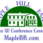 Maple hill farm inn and conference center maplebb.com logo on white background dispenser amenities