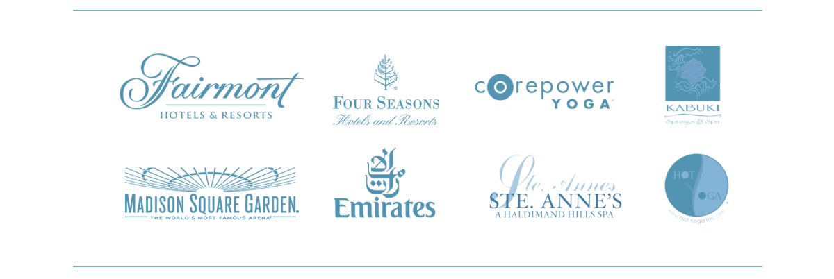 Spa Yoga Sports and Country Club Logos