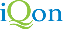Iqon logo transparent background dispenser amenities