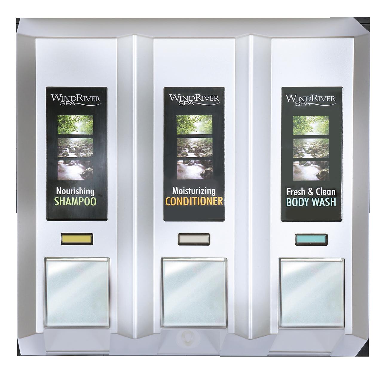 AZAYA Chrome Dispenser