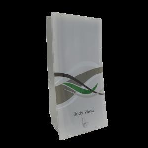 wave body wash dispenser on transparent background dispenser amenities