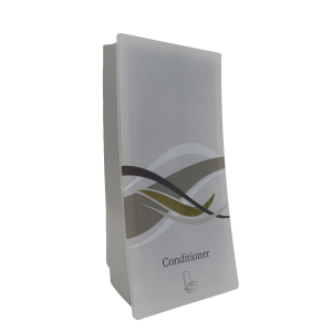 wave body conditioner on transparent background dispenser amenities