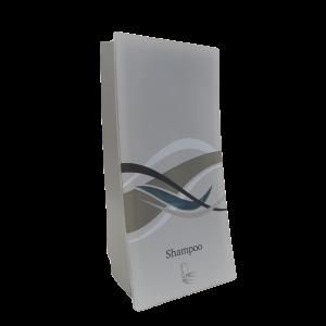 wave body shampoo on transparent background dispenser amenities