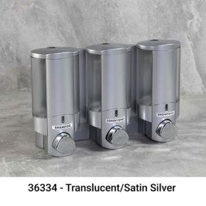 Aviva iii satin silver